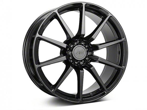GT350 Style Schwarze Felge - 19x8,5 / 10 (15-21 GT, EB, V6)