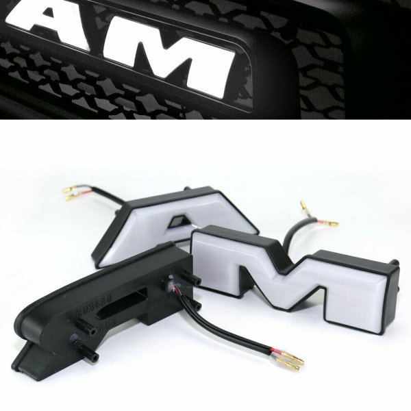 Set of Grille White LED Letters (10-18 RAM 1500)
