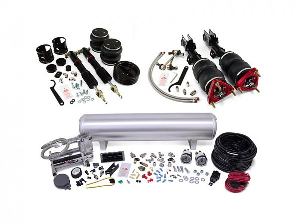 Luftfederung Performance Complete Fahrwerks-Kit - manuell (15-21 All) 78021