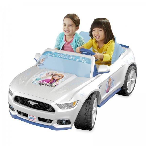 POWER WHEELS Disney Froozen Kinder Mustang Spielzeug