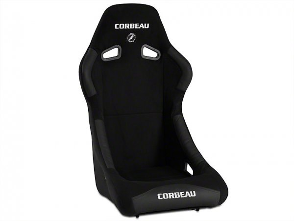 Corbeau Forza Sitz - Schwarz Microsuede (79-21 All) S29101