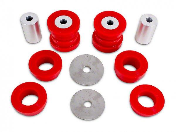 BMR Hinterradlagerbuchsen Kit - Rot Polyurethan (15-18 All) BK047