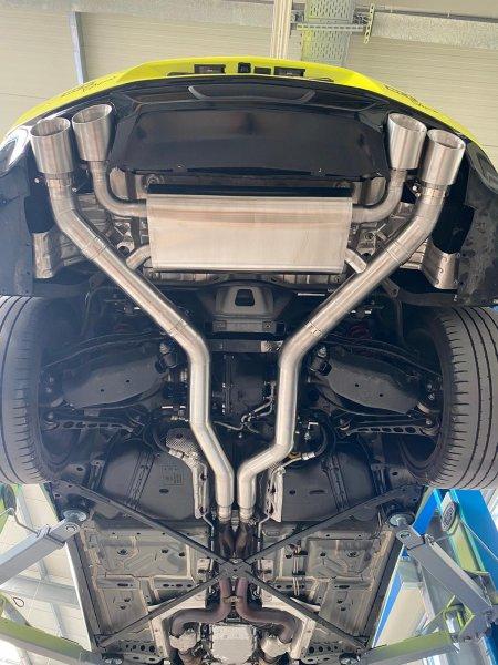 GRAIL Auspuffanlage Camaro Gen. 6 - 3,5 Zoll (CAMARO 16-20)