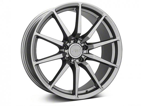 GT350 Style Anthrazit Felge - 19x8,5 / 10 (15-21 GT, EB, V6)