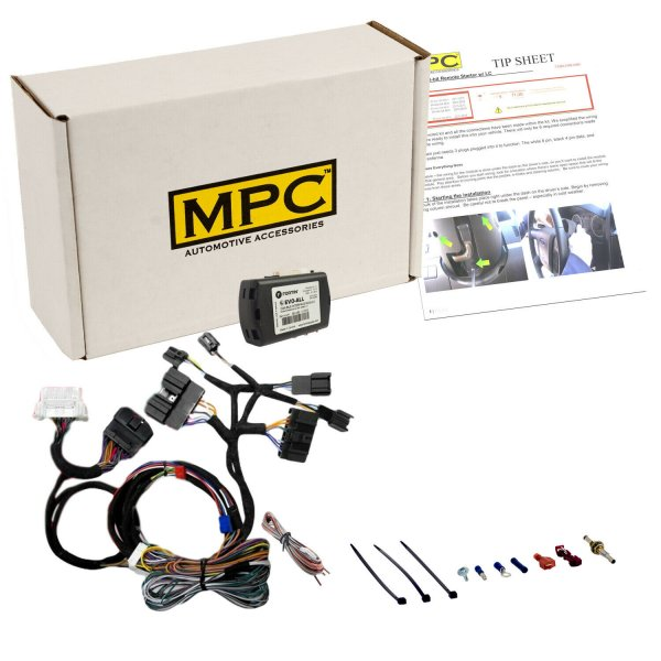 Plug-n-Play Factory Remote Activated Remote Start Kit (10-14 All)