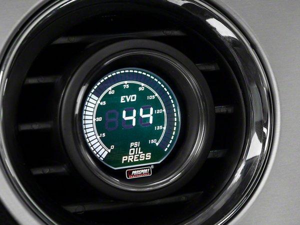 2-Farben Öldruck Digitalanzeige - Elektrisch - Grün / Weiß (79-21 All) 387162