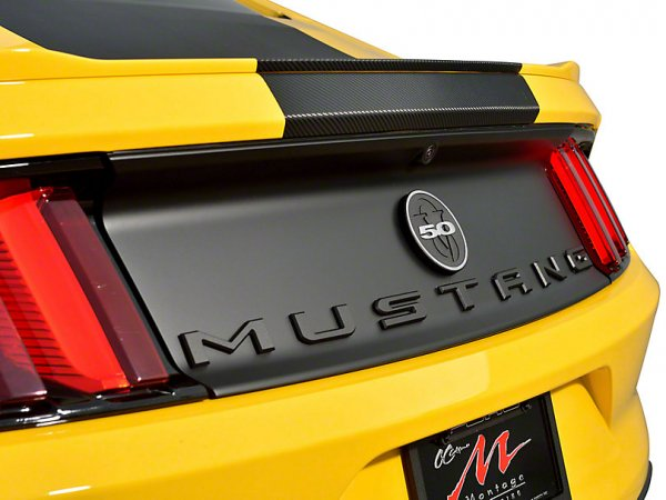 Defenderworx Matte Black MUSTANG Trunk Buchstaben (79-21 All) 900721