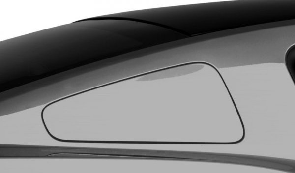 MMD GT350 Style Fenster Abdeckungen Scoops - vorlackiert (10-14 All)