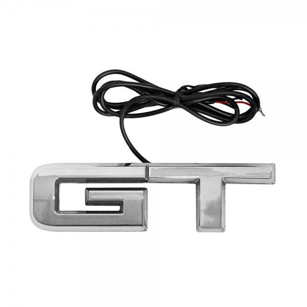 X-Lume GT Emblem chrom mit Red Illumination (15-21 All)