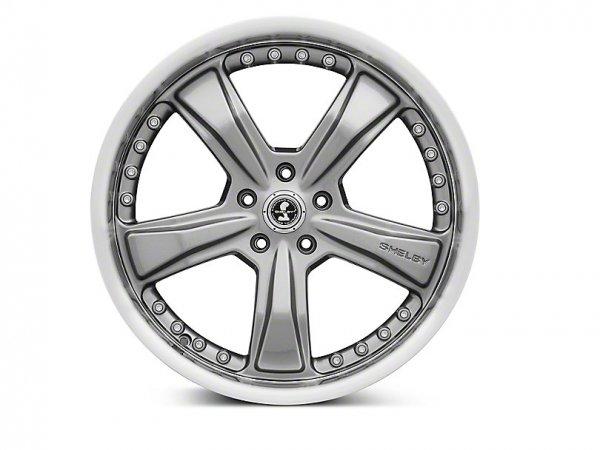 Shelby Razor Gunmetal Felge - 20 x 9 / 10 (15-21 GT, EB, V6)