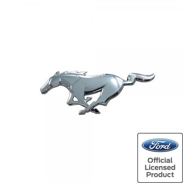 Pony Vorne Emblem Chrom Original Ford Lizenziert OEM (15-21 All)