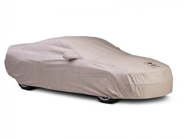 Covercraft Deluxe Abdeckplane Car Cover - 50th Anniversary Logo außer 13-14 GT500 (10-14 All, außer C17124-TT-FD-56