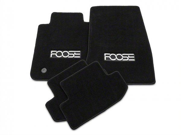 Fußmatten vorne und hinten mit FOOSE Logo - Schwarz (15-20 All) 389130