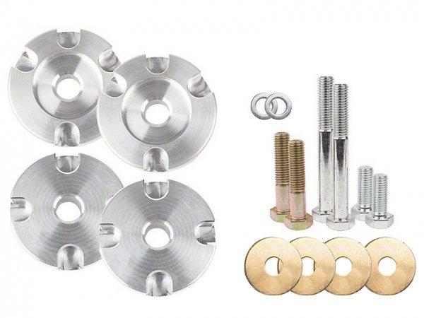 Steeda Race IRS Differential Buchseneinsatz - Aluminium (15-21 GT, EB) 555-4440