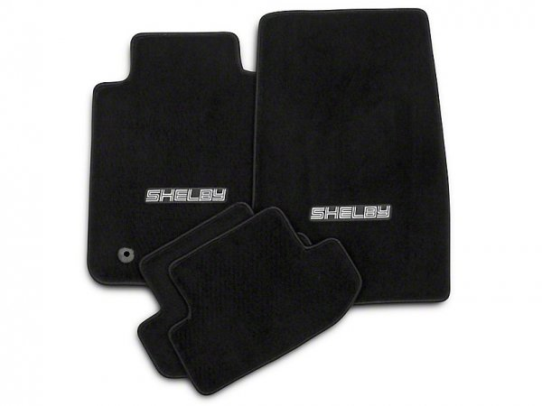Lloyd vorne und hinten Fußmatten mit Shelby Logo - schwarz (15-20 All) S1174701