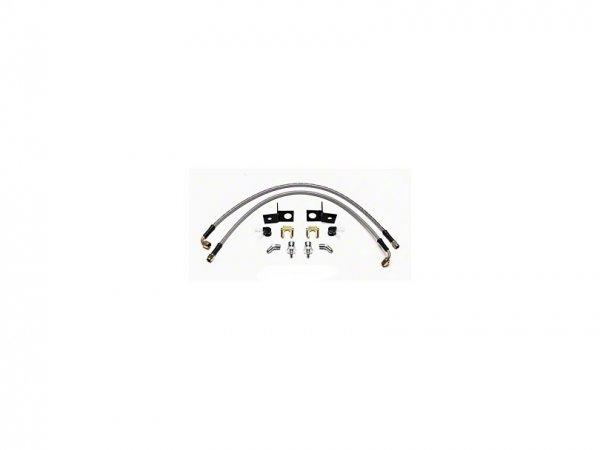 Wilwood AERO4 Caliper Flexline Bremsleitungskit - Hinten (15-21 All) 220-13913
