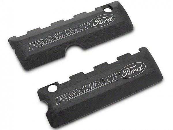Ford Performance Motorabdeckungen mit Ford Racing Logo - Schwarz (11-17 GT, 12-13 BOSS 302, 15-18 GT M-6067-50BK