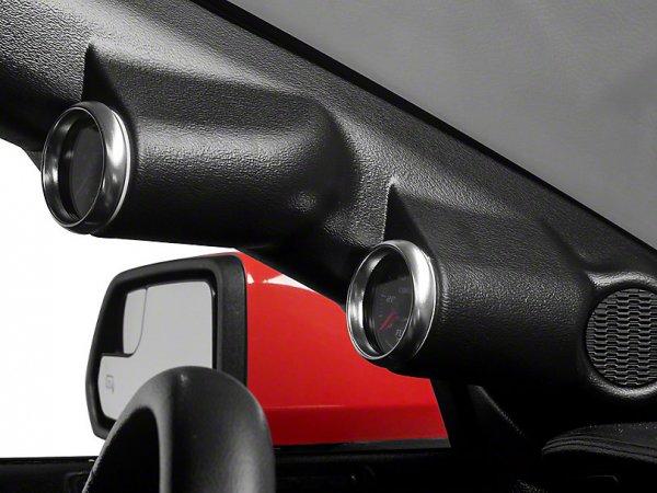 Auto Meter A-Pillar Messgerät Einfassung - Dual 2-1 / 16 Zoll (15-20 Fastback) 12136