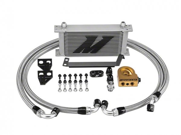Mishimoto Performance Thermostat Ölkühler - Silber (15-21 EB) MMOC-MUS4-15TSL