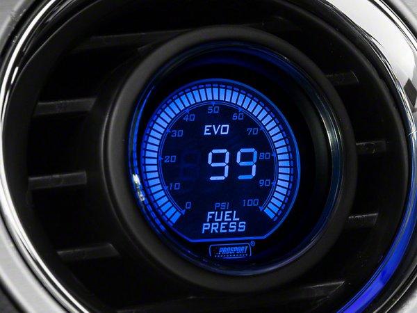 2-Farben Kraftstoffdruck Digitalanzeige - Elektrisch - Blau / Rot (79-21 All) 387159