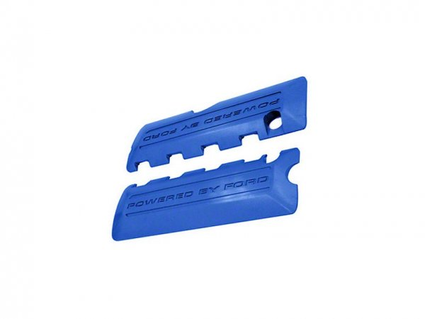 Ford Performance Motorabdeckungen mit Powered by Ford Logo - Blau (11-17 GT, 12-13 BOSS 302, 15-18 G M-6P067-M50B