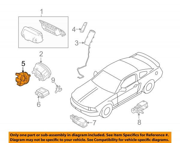 Lenkrad Schleifring für Lenkradairbag (10-14 All)
