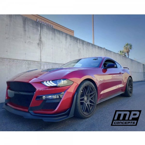 MP Concepts GT500 Shelby Style Front Set PP (18-21 All)