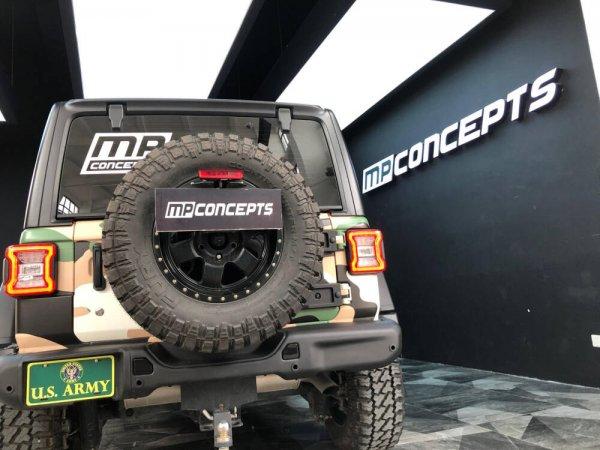 MP Concepts Aluminum Rear Bumper (WRANGLER 18-21 JL)