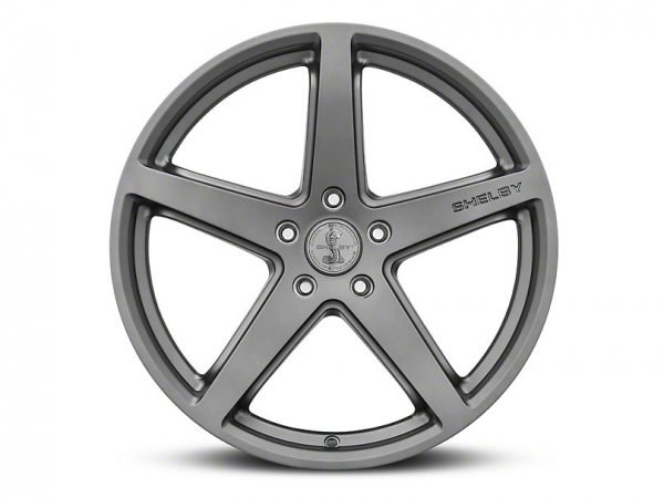 Shelby Style SB201 Anthrazit Felge - 19 x 9,5 / 10,5 oder 20 x 9,5 (15-21 GT, EB, V6)