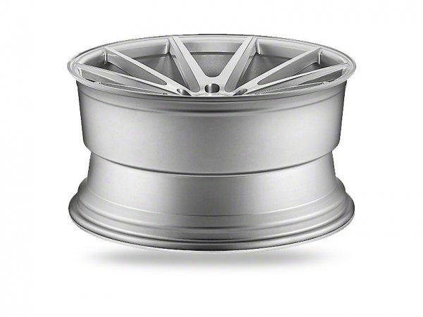 Vossen VFS / 1 Silber gebürstete Felge - 19 und 20 Zoll (15-21 Standard GT, EB, V6)