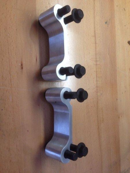 Adapterhalterung 14 Zoll für Bremsscheiben hinten (05-14 All)