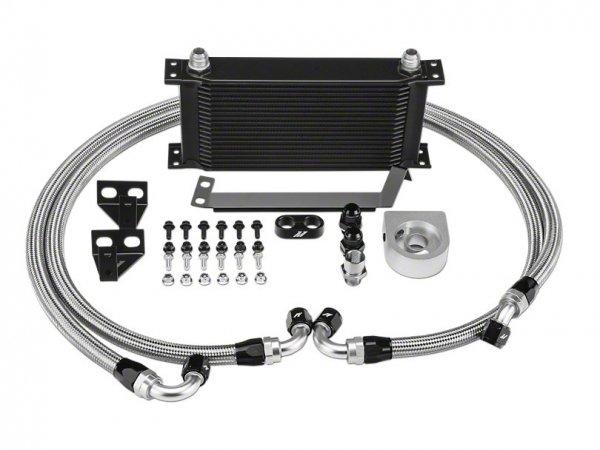Mishimoto Performance Ölkühler - Schwarz (15-20 EB) MMOC-MUS4-15BK