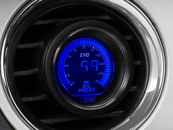2-Farben Öldruck Digitalanzeige - Elektrisch - Blau / Rot (79-21 All) 387154